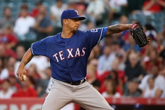 Lohse Designated for Assignment After 2 Starts for Rangers