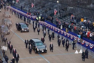 Inauguration Speech, Parade in Washington, D.C.