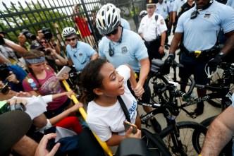Over 50 Pro-Sanders Demonstrators Cited Outside DNC