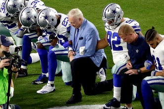 Trump Speaks With Cowboys' Owner Jerry Jones