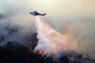 Power Line Started Destructive Fire in Greater Los Angeles