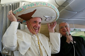 Pope Francis Arrives for 6-Day Mexico Visit