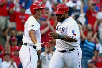 Rangers Bats Showed Some Life in Game 4