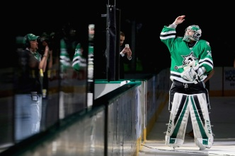 Dallas Stars Goaltender Named NHL's Star of the Week