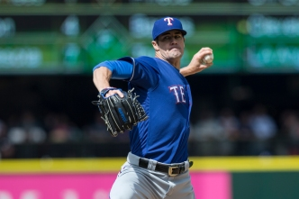 History For Hamels In Sunday's Win Over Mariners
