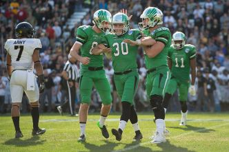 Late Field Goal Lifts UNT Over Army
