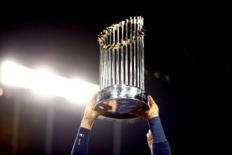 World Series Trophy Damaged at Charity Event