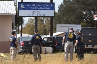 Church Gunman's Wife Says He Bound Her to Bed Before Deaths