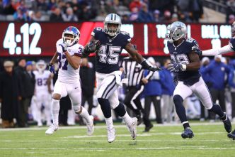 Career Game for Rod Smith in Cowboys' Win over Giants