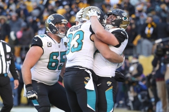 Jaguars Stun Steelers 45-42 to Earn Trip to AFC Title Game