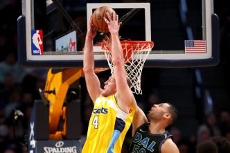 Jokic Has Triple-Double as Nuggets Beat Mavericks