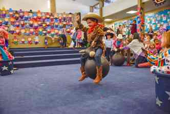 Kindergartners Carry On With Rodeo Tradition