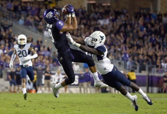 Former TCU-Star Doctson Deals with 'Lingering' Injury