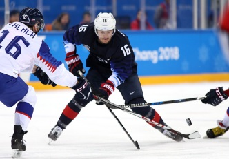 US Men's Hockey Team Faces Slovakia in Playoff Rematch