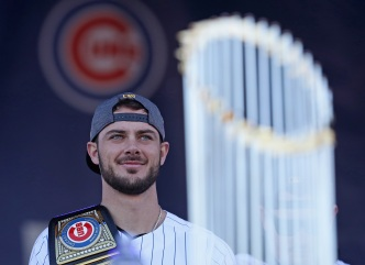 "Cubs Kris Bryant on Joey Gallo: ""Gonna Be A Star In The Big Leagues"""