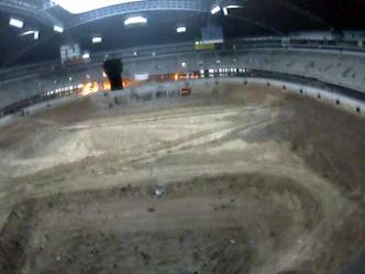 Stadium Implosion: Inside and Outside Views
