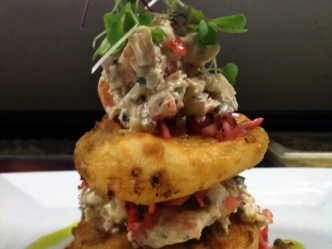 Gourmet Yourself: Go Fish Fried Green Tomatoes