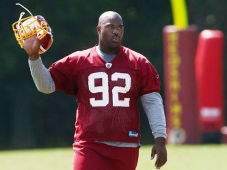 "Shanahan: Haynesworth ""Will Be With Our Team"" Vs. Cowboys"