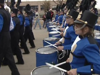 All Birdville Band Marches in Rose Parade