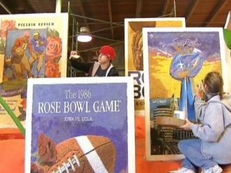 The Rose Bowl Legacy Float