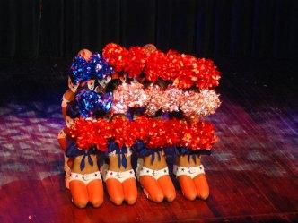 Cowboys Cheerleaders Make Annual USO Trip