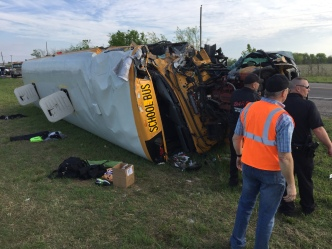 Track Coach Killed, 18 Students Hurt in East Texas Bus Crash