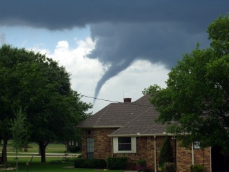Tornado Touches Down in Midlothian