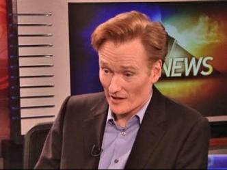 Conan Touts Tonight Show to DFW