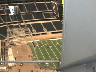 The Worst Seat at JerryWorld