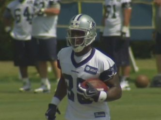 Dez Catches Passes, Hopes For Speedy Recovery