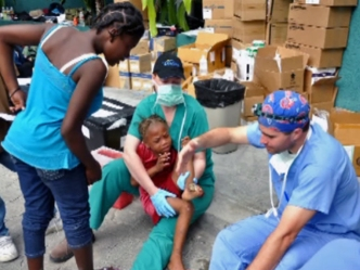 Dallas Plastic Surgeon Helps Out In Haiti