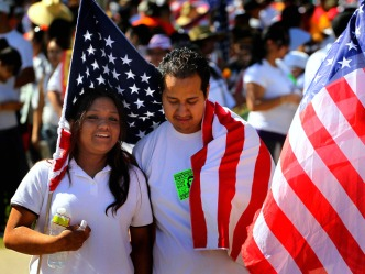 Thousands March in Arizona Over Immigration Law