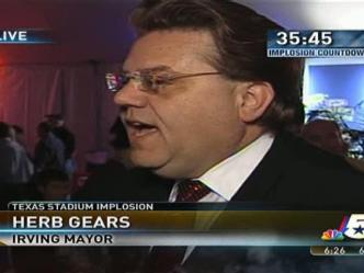 Irving Mayor Herb Gears on Implosion