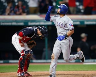 Gallo, Kiner-Falefa Homer in 12th, Rangers Beat Indians