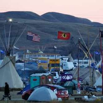 Veterans Converge on North Dakota by the Thousands to Help Pipeline Protest