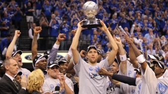 Mavericks Legend Dirk Nowitzki Named NBA Teammate of the Year