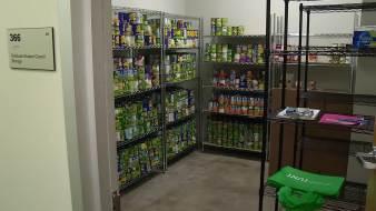 UNT Food Pantry Battles Student Hunger