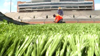 New Turf at UNT to Cool Down Football Field