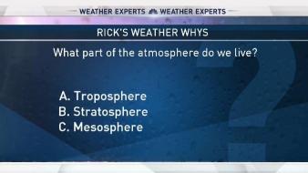 Weather Quiz: Atmosphere Levels