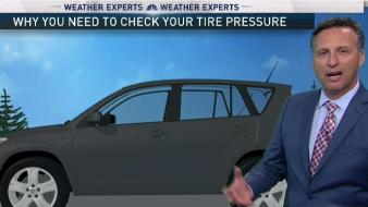 Weather Changes Affect Tire Pressure