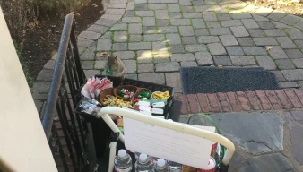 Caught on Camera: Squirrel Steals Candy