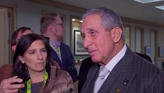 Atlanta Falcons Owner Arthur Blank Discusses Meetings