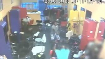 Houston Salon Owner Fights Off Robbers with Broom