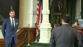 Dirk Nowitzki Recognized Before Texas House and Senate