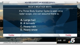 Weather Quiz: Three Body Scatter Spike