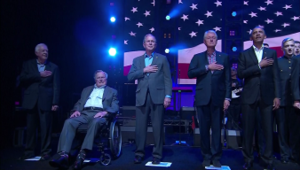 Former Presidents Come Together at Hurricane Aid Concert