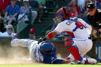 Chirinos Apparently Ahead of Schedule