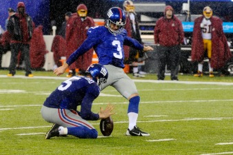 Giants Kicker Suspended for Dallas Opener Due to Conduct Violation