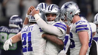 Prescott, Cowboys Push Past Seahawks for Wild-Card Win