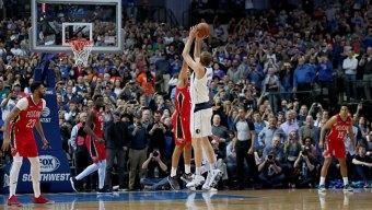 Nowitzki Passes Wilt But Pelicans Top Mavs in OT